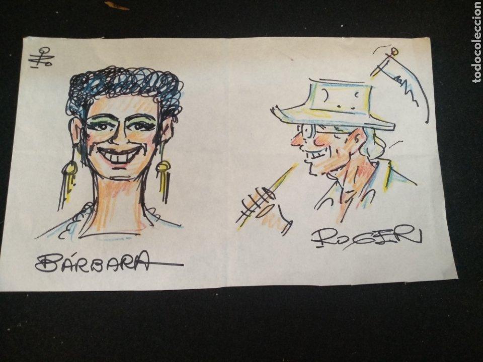 Cómics: Lote dibujos originales García Iranzo - Foto 3 - 195127105