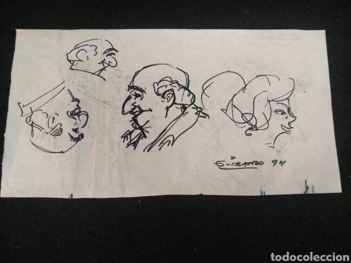 Cómics: Lote dibujos originales García Iranzo - Foto 4 - 195127105