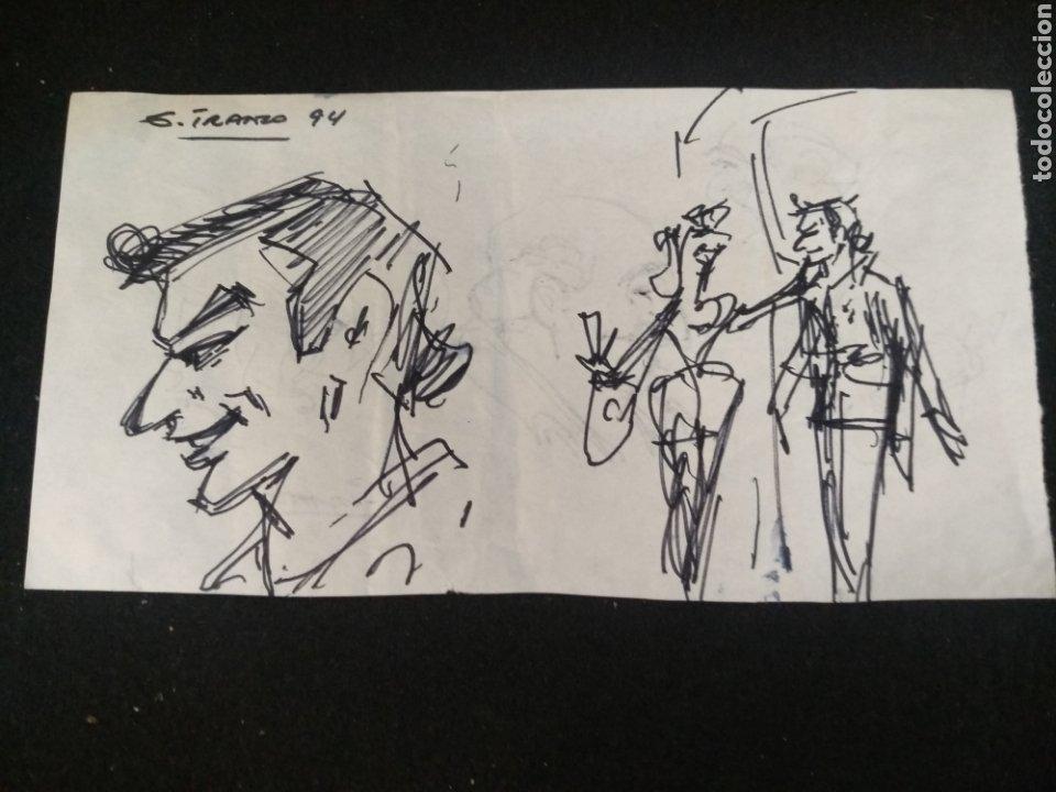 Cómics: Lote dibujos originales García Iranzo - Foto 5 - 195127105