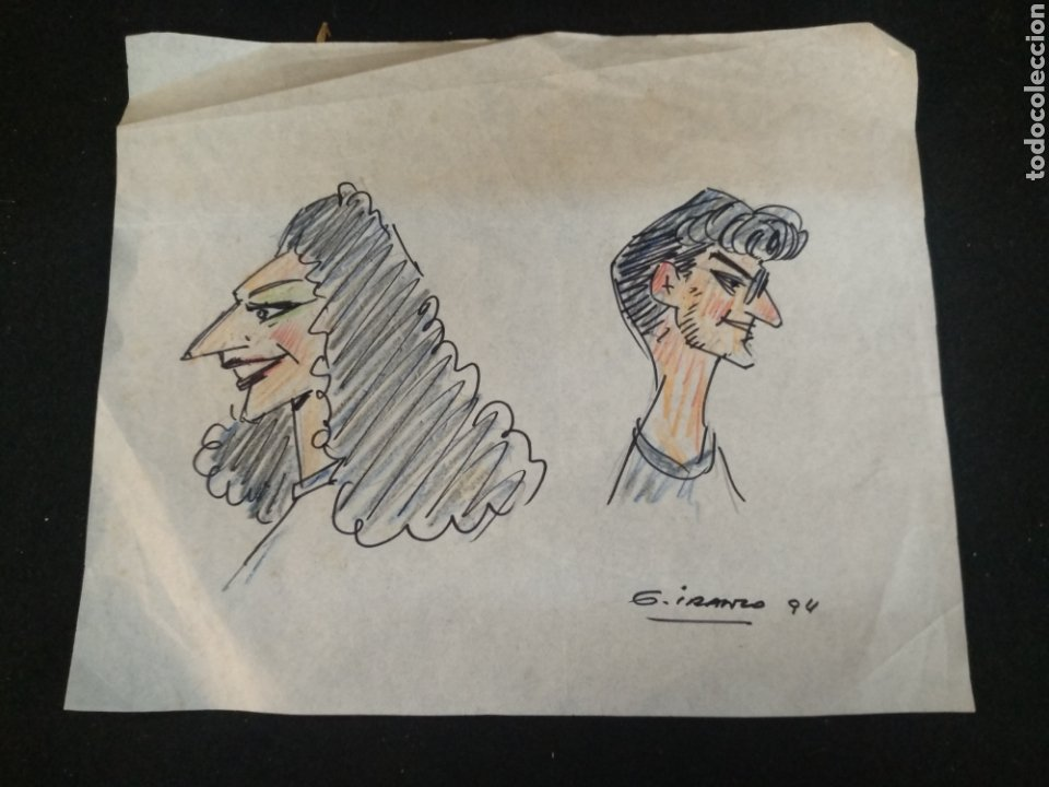 Cómics: Lote dibujos originales García Iranzo - Foto 6 - 195127105