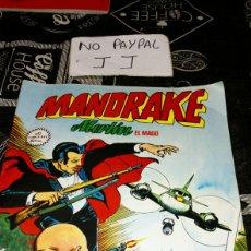 Cómics: MANDRAKE MERLÍN EL MAGO 13 VISIONES SIDERALES ALGUNA ARRUGA LOMO VER FOTOS ESTADO. Lote 195152278