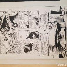 Cómics: BATMAN:TIERRA DE NADIE.#569. SERGIO CARIELLO. (EL ORIGINAL VA ACOMPAÑADO DEL COMIC AMERICANO). Lote 195252745