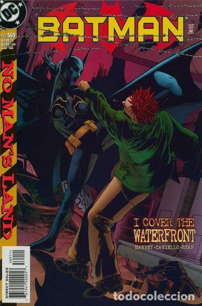 Cómics: BATMAN:TIERRA DE NADIE.#569. SERGIO CARIELLO. (El original va acompañado del comic americano) - Foto 2 - 195252745