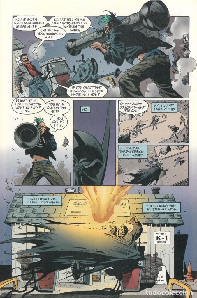 BATMAN:TIERRA DE NADIE.#569. SERGIO CARIELLO. (EL ORIGINAL VA ACOMPAÑADO DEL COMIC AMERICANO) (Tebeos y Comics - Art Comic)