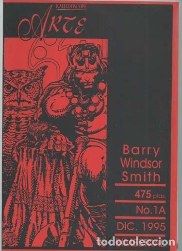 KALEIDOSCOPE ARTE 1A: BARRY WINDSOR SMITH, 1995, SANTIAGO NAVARRO, BUEN ESTADO (Tebeos y Comics - Art Comic)