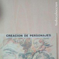 Cómics: ARTE DIBUJO ORIGINAL DE UNA PORTADA. JOSEP MARIA BEA COMIC ART. Lote 182500518