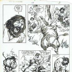 Cómics: JOHN BUSCEMA - KULL THE CONQUEROR #10 PG. 3 ORIGINAL. Lote 196294645