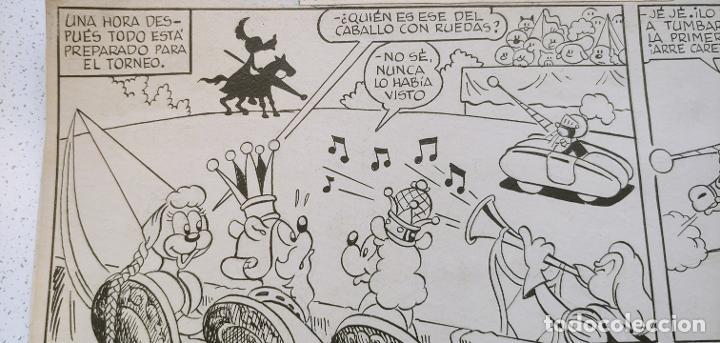 Cómics: Original historieta Pumby En la Corte del Rey Canguro Valenciana primera aventura publicada de Pumby - Foto 3 - 196589502