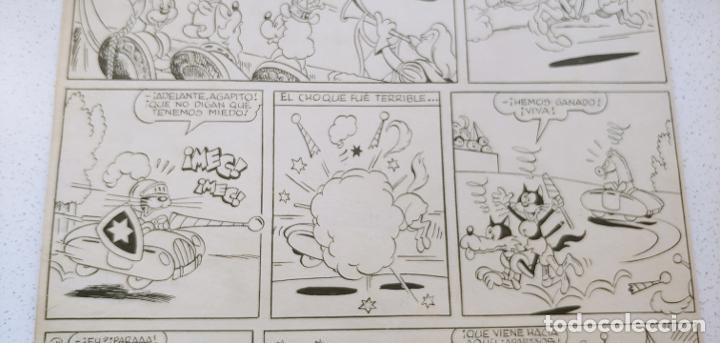 Cómics: Original historieta Pumby En la Corte del Rey Canguro Valenciana primera aventura publicada de Pumby - Foto 5 - 196589502