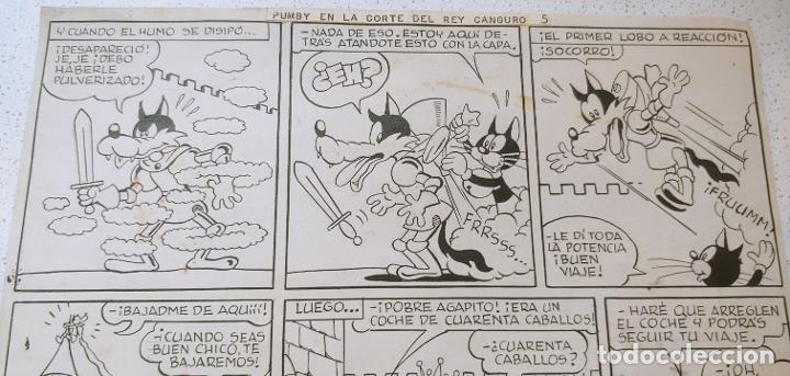 Cómics: Original historieta Pumby En la Corte del Rey Canguro Valenciana primera aventura publicada de Pumby - Foto 21 - 196589502