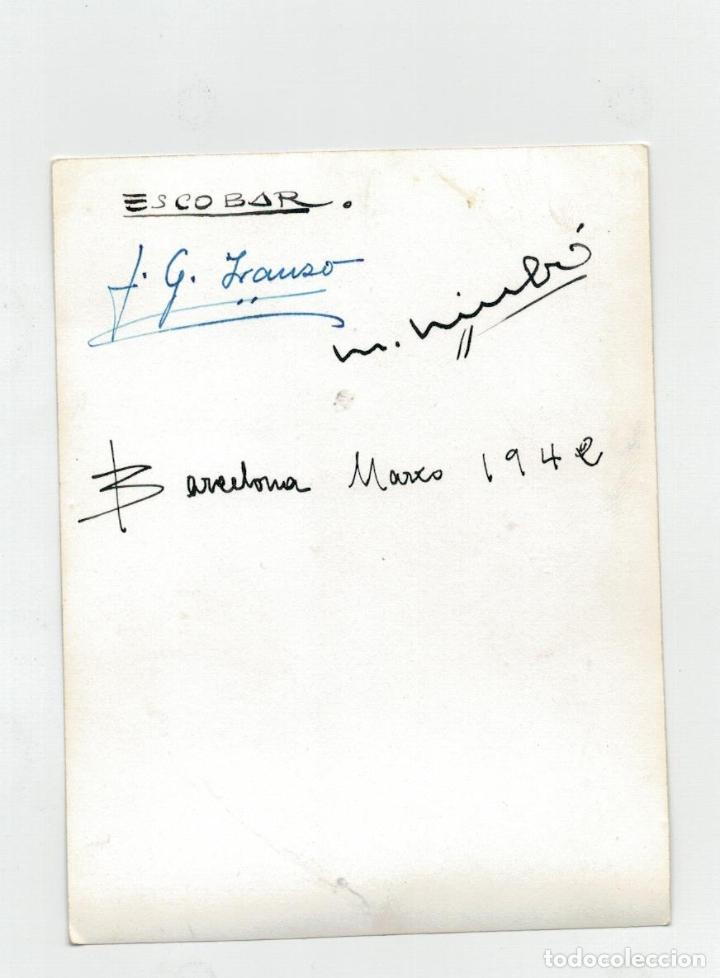 Cómics: CHAMARTIN - FOTOGRAFIA LA SARTEN DE CIVILON FIRMADA POR ESCOBAR, JUAN GARCIA IRANZO Y NIUBO - 1942 - Foto 2 - 196741350