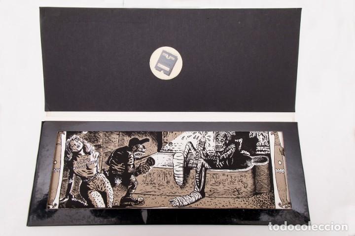 Cómics: Cinemascope: 7 Serigrafías - Loustal, Denis Sire, Max, Ben Radis, Mezzo, Benito & Vuellemin - 1985 - Foto 4 - 197717211