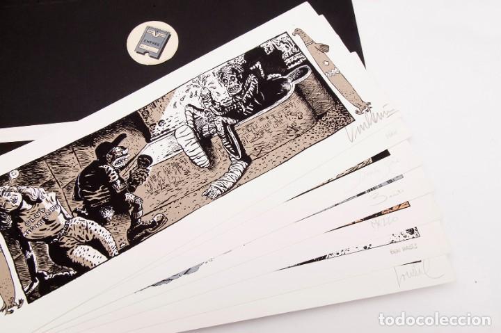 Cómics: Cinemascope: 7 Serigrafías - Loustal, Denis Sire, Max, Ben Radis, Mezzo, Benito & Vuellemin - 1985 - Foto 6 - 197717211