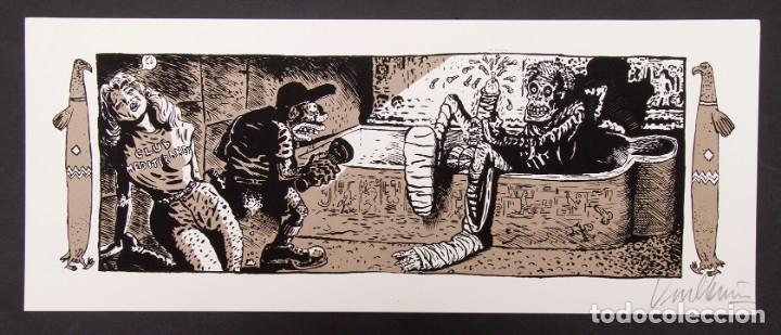 Cómics: Cinemascope: 7 Serigrafías - Loustal, Denis Sire, Max, Ben Radis, Mezzo, Benito & Vuellemin - 1985 - Foto 7 - 197717211