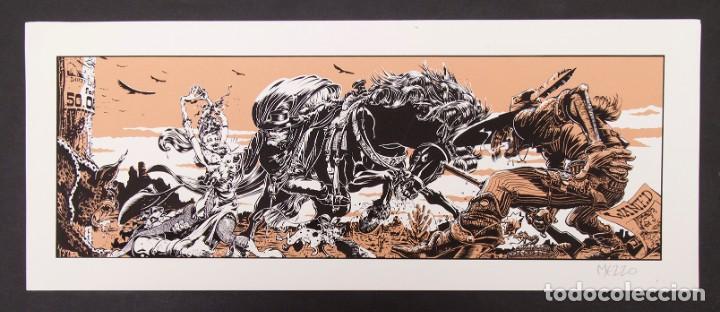 Cómics: Cinemascope: 7 Serigrafías - Loustal, Denis Sire, Max, Ben Radis, Mezzo, Benito & Vuellemin - 1985 - Foto 11 - 197717211