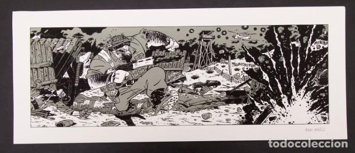 Cómics: Cinemascope: 7 Serigrafías - Loustal, Denis Sire, Max, Ben Radis, Mezzo, Benito & Vuellemin - 1985 - Foto 12 - 197717211