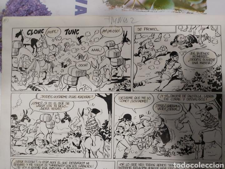 Cómics: Página original de Los Guerrilleros de Bernet Toledano - Foto 2 - 198255253