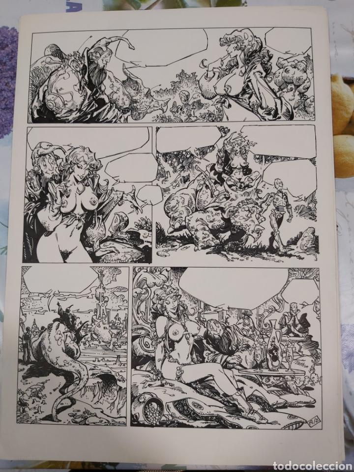 Cómics: Lorna de Alfonso Azpiri historia completa de 4 páginas. - Foto 2 - 198256875