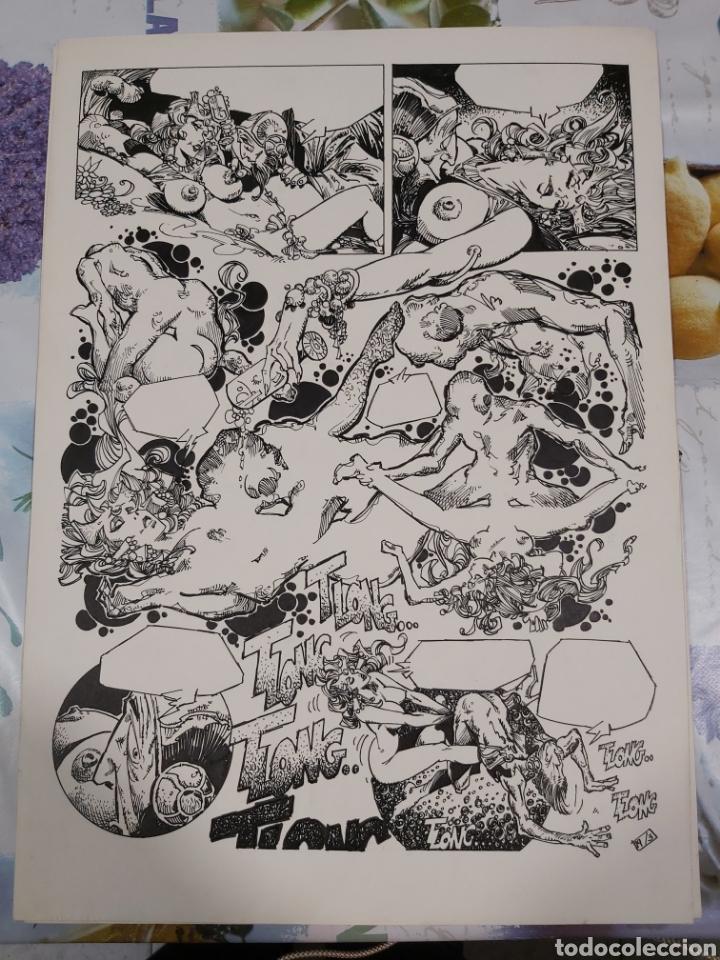 Cómics: Lorna de Alfonso Azpiri historia completa de 4 páginas. - Foto 3 - 198256875