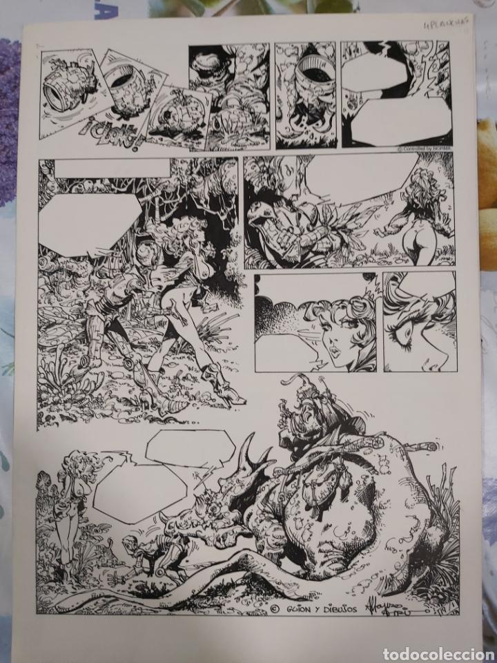 LORNA DE ALFONSO AZPIRI HISTORIA COMPLETA DE 4 PÁGINAS. (Tebeos y Comics - Art Comic)