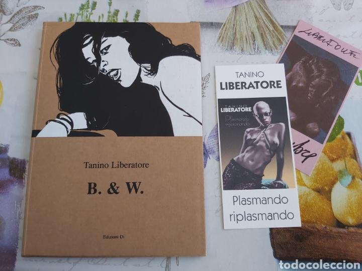 TANINO LIBERATORE B. & W. LIBRO SERIGRÁFICO FIRMADO Y NUMERADO. (Tebeos y Comics - Art Comic)
