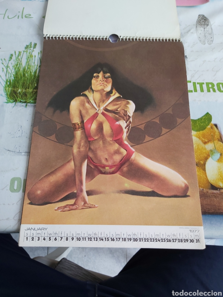 Cómics: Warren 1977 calendar, Vampirella Enrich - Foto 2 - 198899955