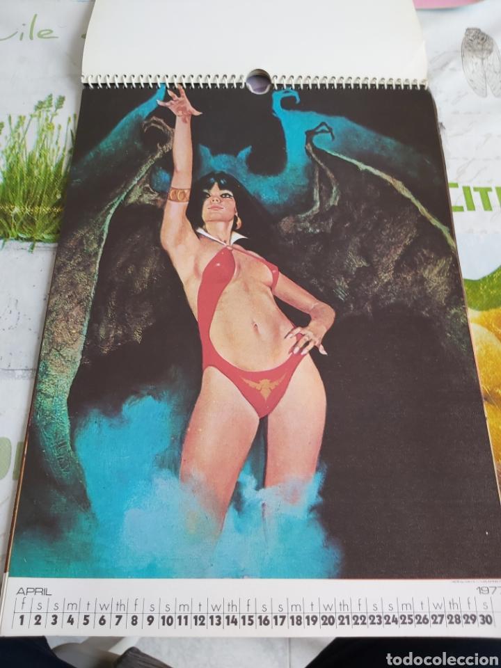 Cómics: Warren 1977 calendar, Vampirella Enrich - Foto 5 - 198899955