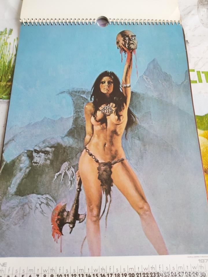 Cómics: Warren 1977 calendar, Vampirella Enrich - Foto 7 - 198899955