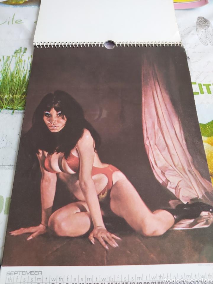 Cómics: Warren 1977 calendar, Vampirella Enrich - Foto 10 - 198899955