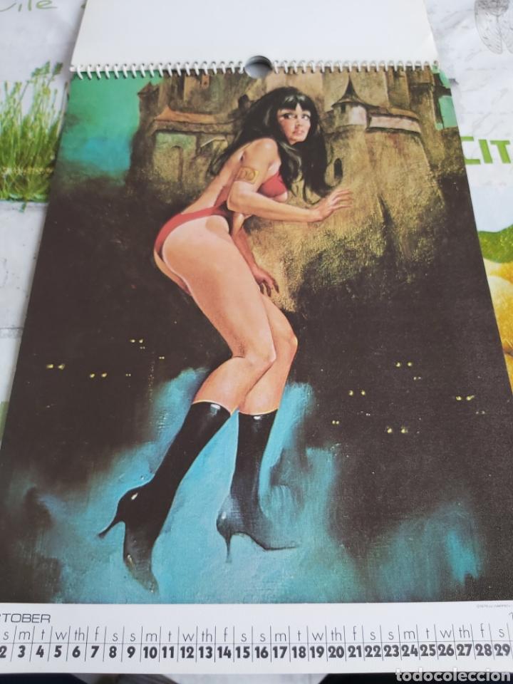 Cómics: Warren 1977 calendar, Vampirella Enrich - Foto 11 - 198899955