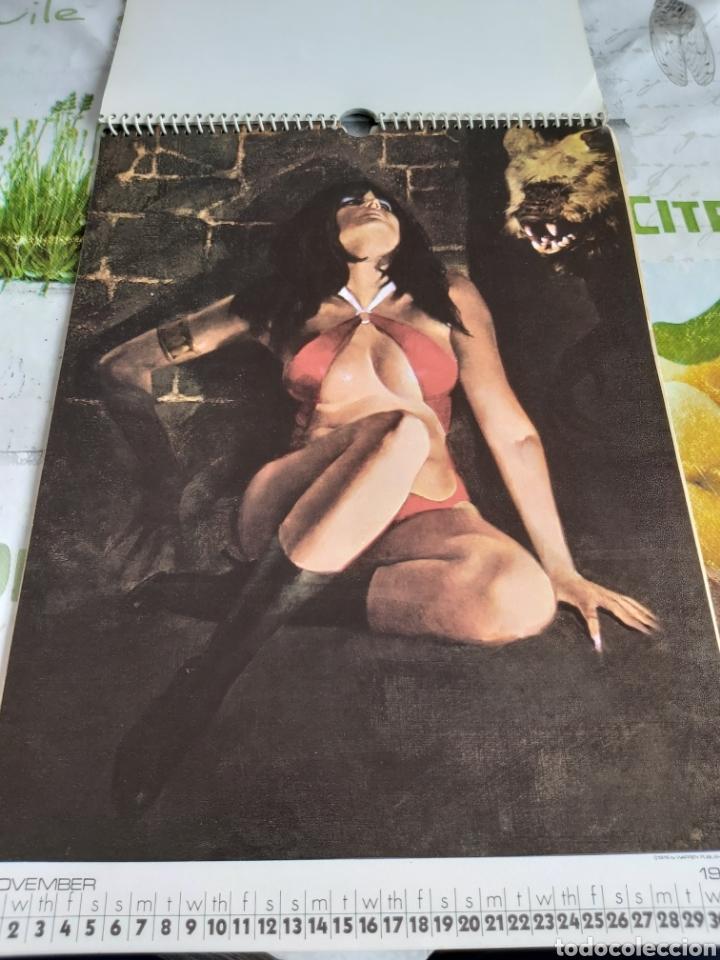Cómics: Warren 1977 calendar, Vampirella Enrich - Foto 12 - 198899955