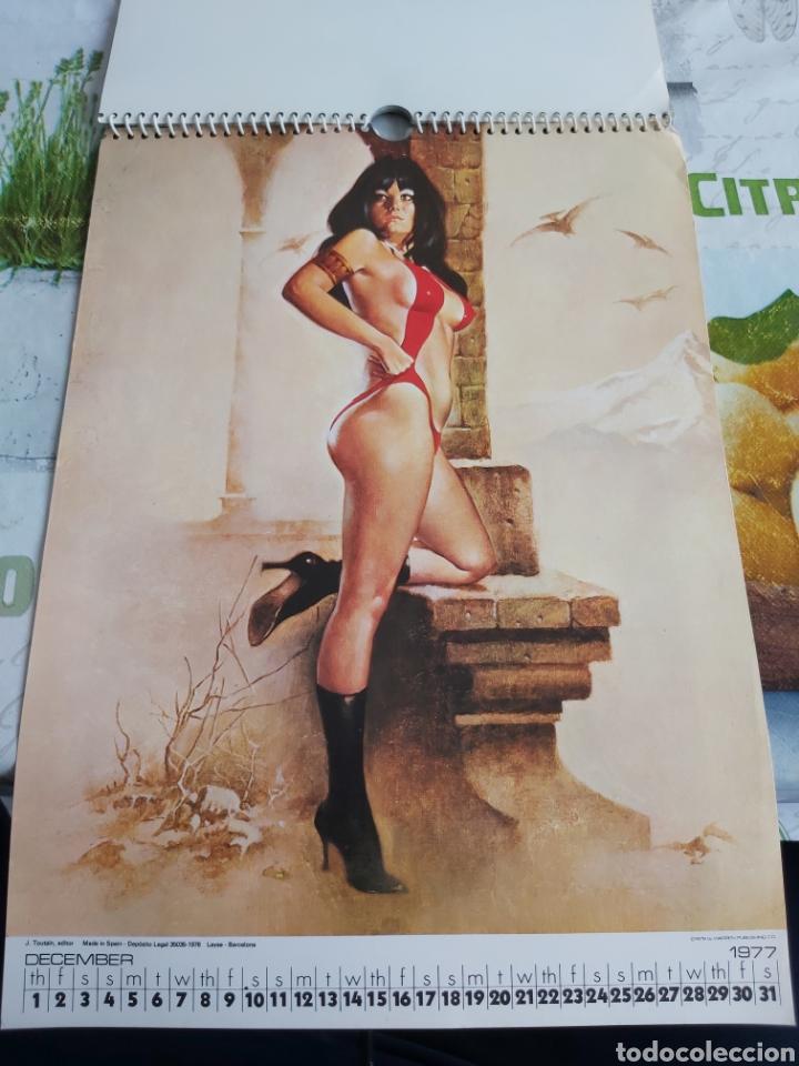Cómics: Warren 1977 calendar, Vampirella Enrich - Foto 13 - 198899955