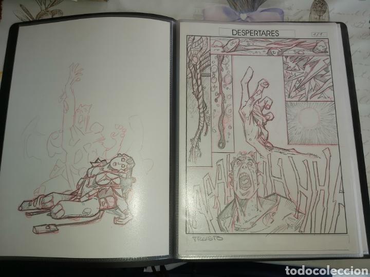 Cómics: Despertares de Alfonso Azpiri story board de todo el álbum - Foto 3 - 198921487