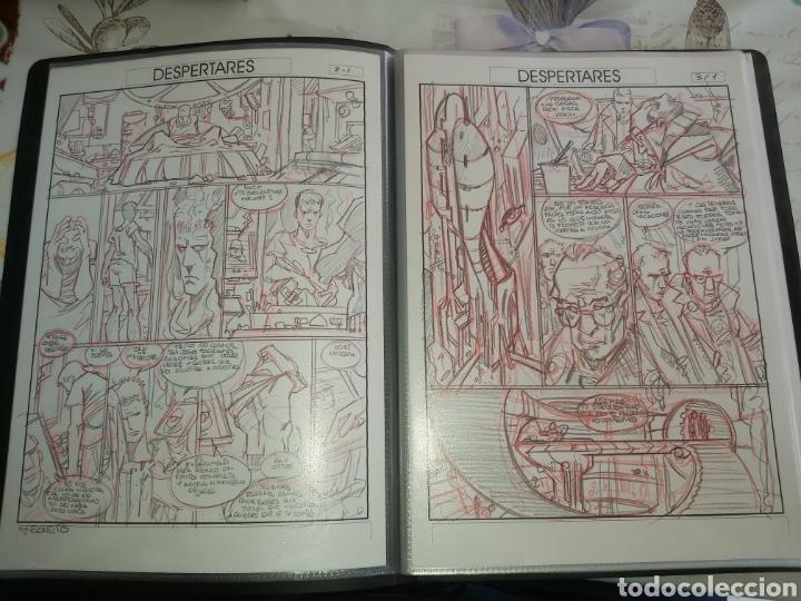 Cómics: Despertares de Alfonso Azpiri story board de todo el álbum - Foto 4 - 198921487