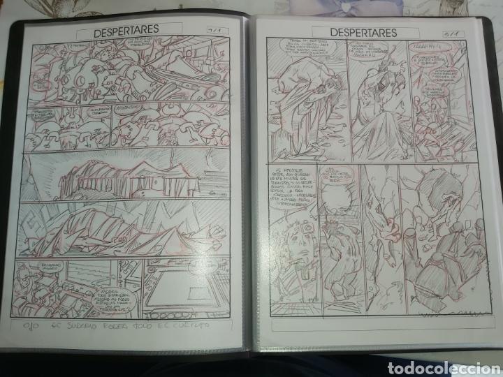 Cómics: Despertares de Alfonso Azpiri story board de todo el álbum - Foto 5 - 198921487