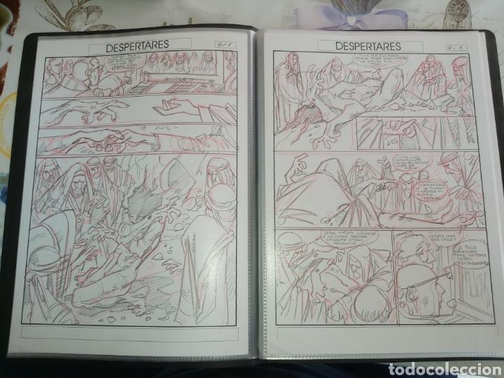 Cómics: Despertares de Alfonso Azpiri story board de todo el álbum - Foto 6 - 198921487