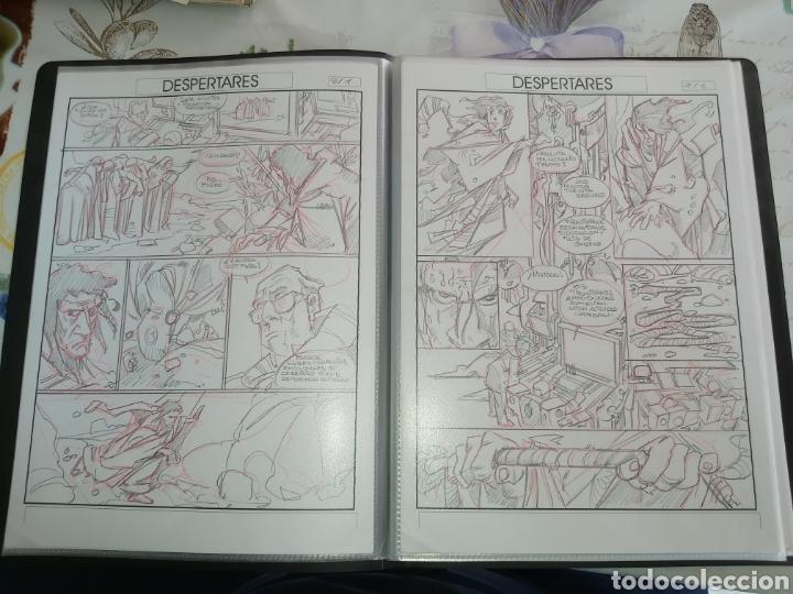Cómics: Despertares de Alfonso Azpiri story board de todo el álbum - Foto 7 - 198921487