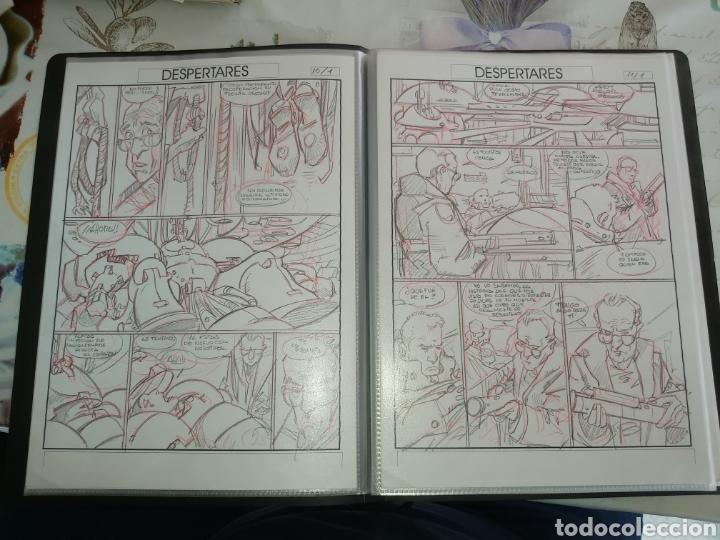 Cómics: Despertares de Alfonso Azpiri story board de todo el álbum - Foto 8 - 198921487