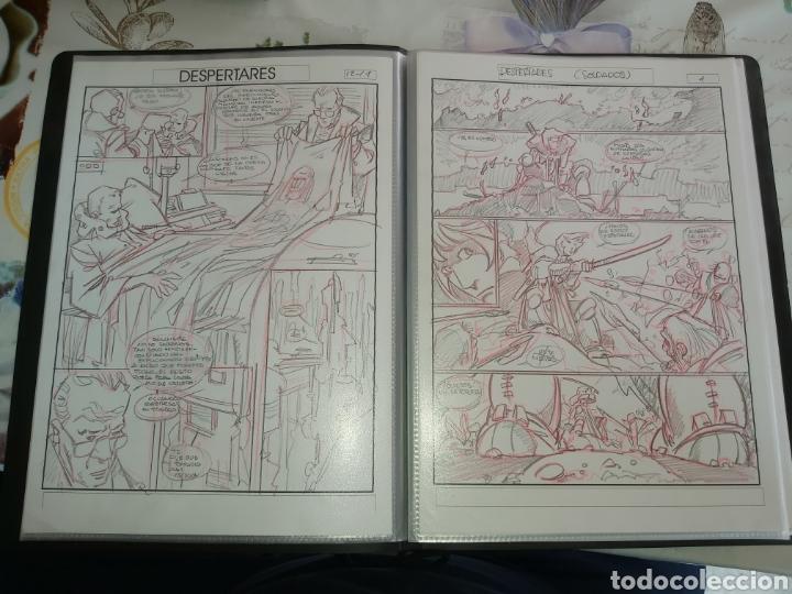 Cómics: Despertares de Alfonso Azpiri story board de todo el álbum - Foto 9 - 198921487