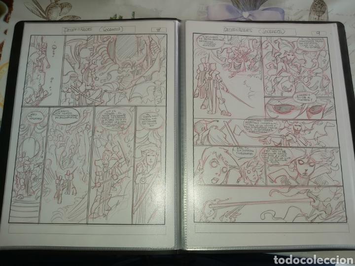 Cómics: Despertares de Alfonso Azpiri story board de todo el álbum - Foto 13 - 198921487