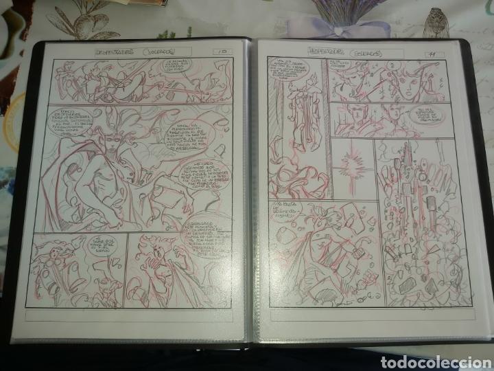 Cómics: Despertares de Alfonso Azpiri story board de todo el álbum - Foto 14 - 198921487