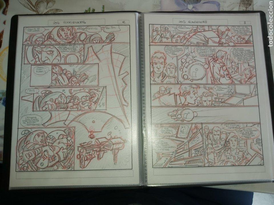 Cómics: Despertares de Alfonso Azpiri story board de todo el álbum - Foto 16 - 198921487
