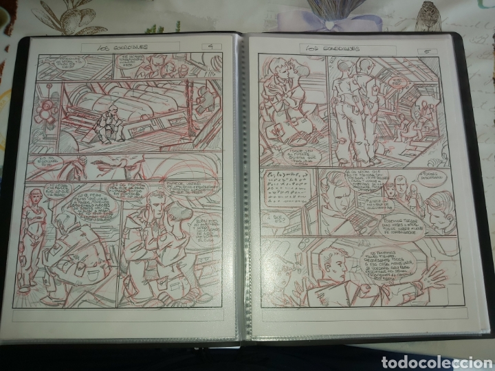 Cómics: Despertares de Alfonso Azpiri story board de todo el álbum - Foto 17 - 198921487