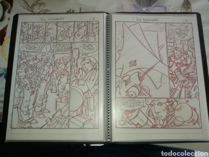 Cómics: Despertares de Alfonso Azpiri story board de todo el álbum - Foto 18 - 198921487
