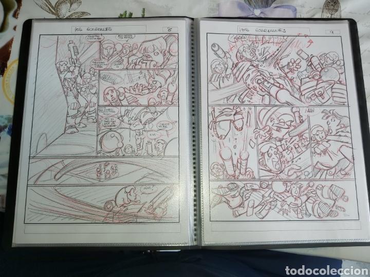 Cómics: Despertares de Alfonso Azpiri story board de todo el álbum - Foto 19 - 198921487