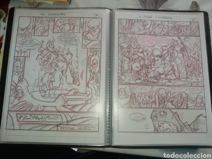 Cómics: Despertares de Alfonso Azpiri story board de todo el álbum - Foto 21 - 198921487