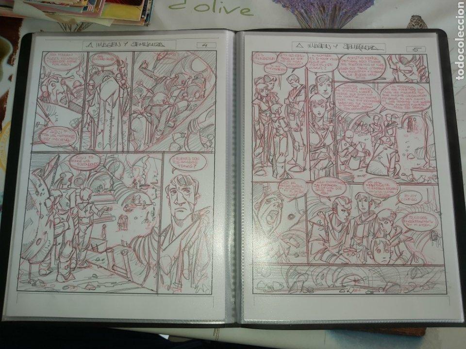 Cómics: Despertares de Alfonso Azpiri story board de todo el álbum - Foto 23 - 198921487
