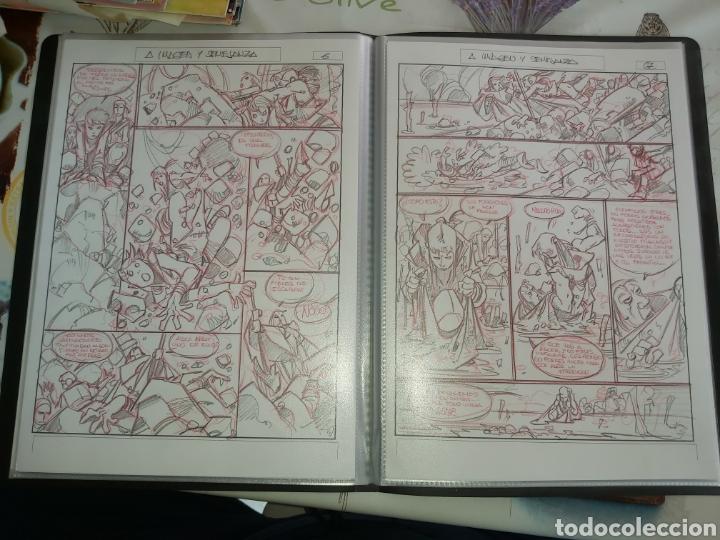 Cómics: Despertares de Alfonso Azpiri story board de todo el álbum - Foto 24 - 198921487