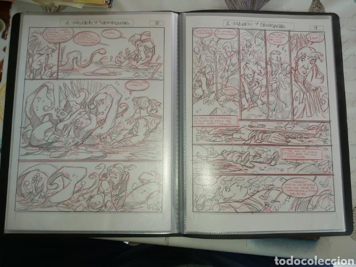 Cómics: Despertares de Alfonso Azpiri story board de todo el álbum - Foto 25 - 198921487