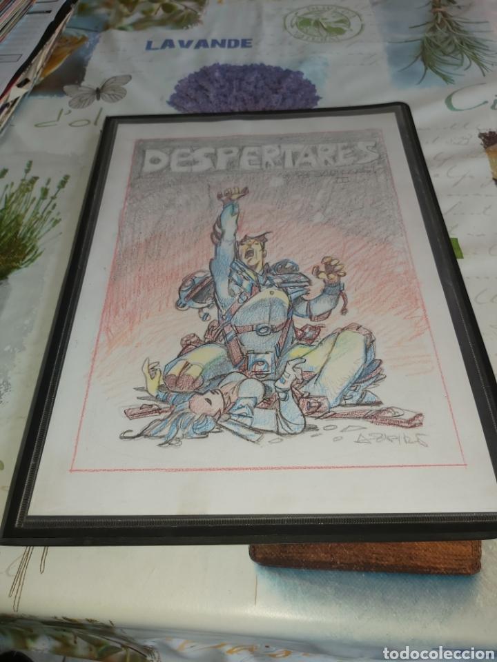 DESPERTARES DE ALFONSO AZPIRI STORY BOARD DE TODO EL ÁLBUM (Tebeos y Comics - Art Comic)